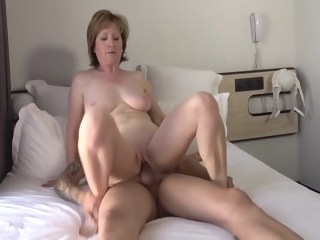 Shy French divorced teacher amateur milf