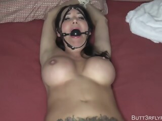 Rae Knight - Bound, Gagged, And Overwhelmed Mom amateur bdsm