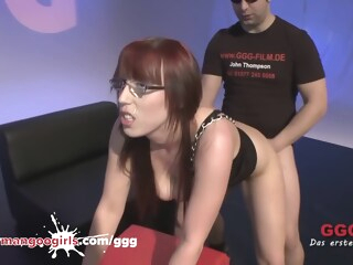 Nerdy Amateur Fiona In Glasses Gets Messy Facial amateur big tits