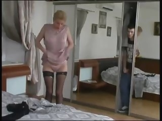 Caught By Step Mother milf straight